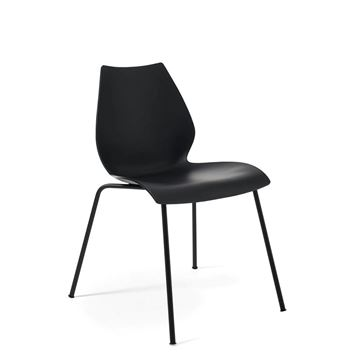 Resim Maui Sandalye Antrasit - Siyah