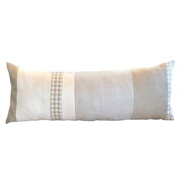 Resim Biyeli Baget Yastık 30x80 cm