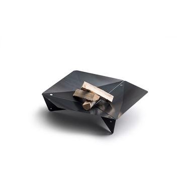 Resim Triple 90 Siyah Ateş Çanağı H:24 cm