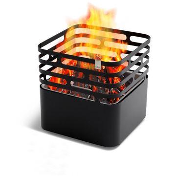 Resim Cube Fire Ateş Kovası - Siyah